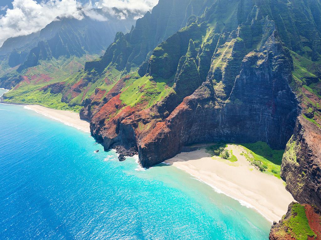 Inselhopping auf Hawaii inkl. Hubschrauberrundflug