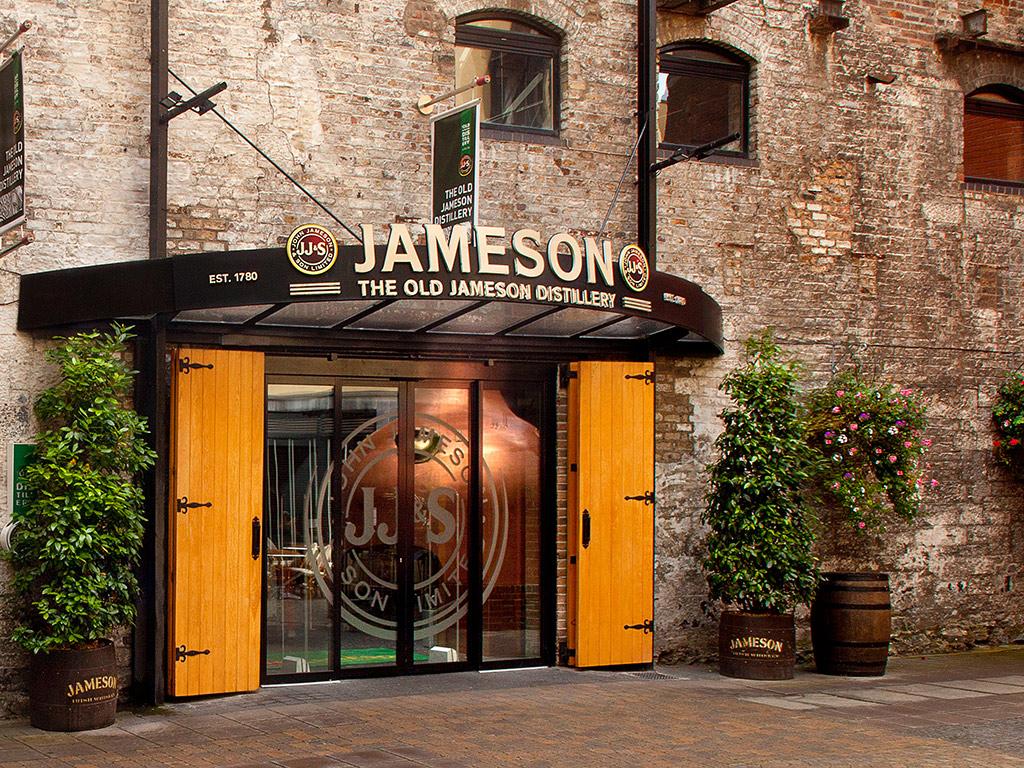 Tour por la Destilería de Jameson