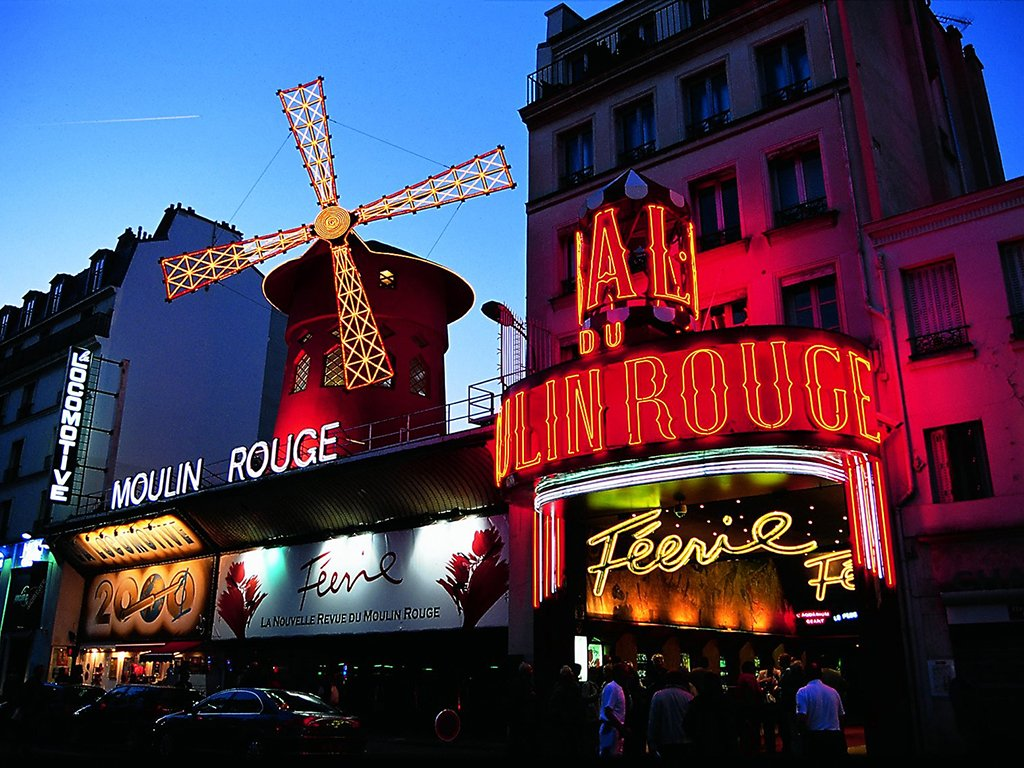 París con cena y espectáculo en el Mouling Rouge