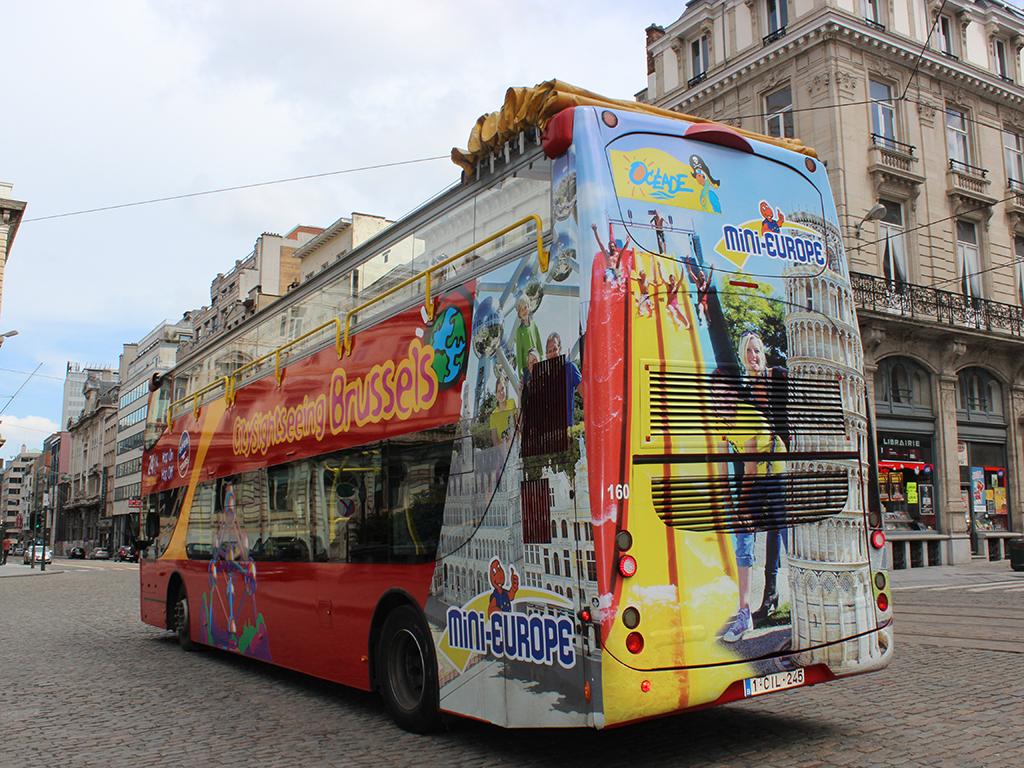 City Sightseeing Hop on-Hop off Bruselas