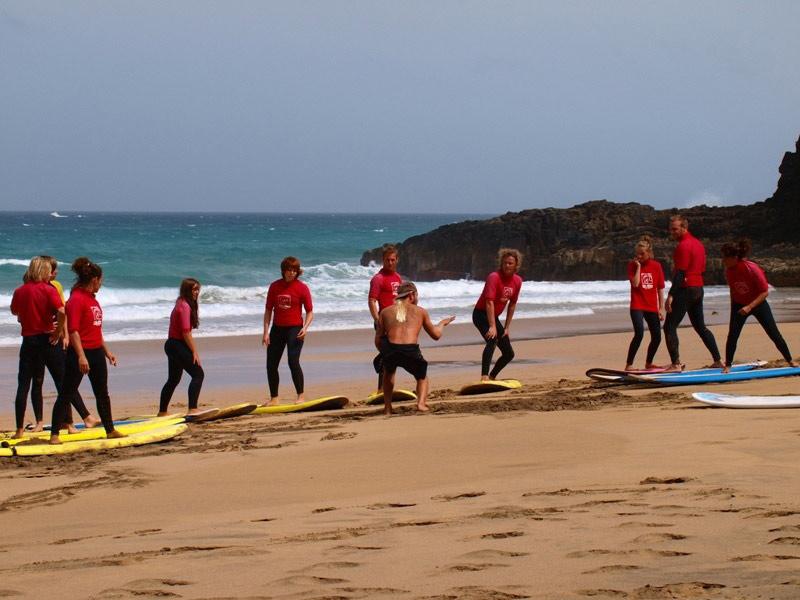 Surfen auf den Kanaren & in Portugal inkl. Intensiv-Surfkurs