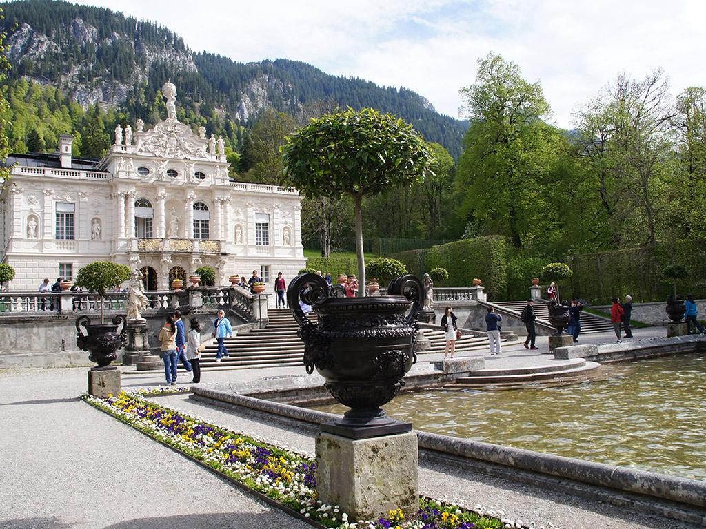 Castillos reales de Neuschwanstein y Linderhof