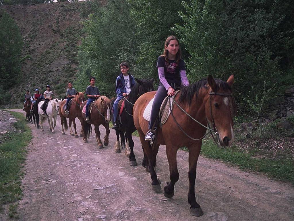 Hipica en el Pallars Subira. Roc Roi