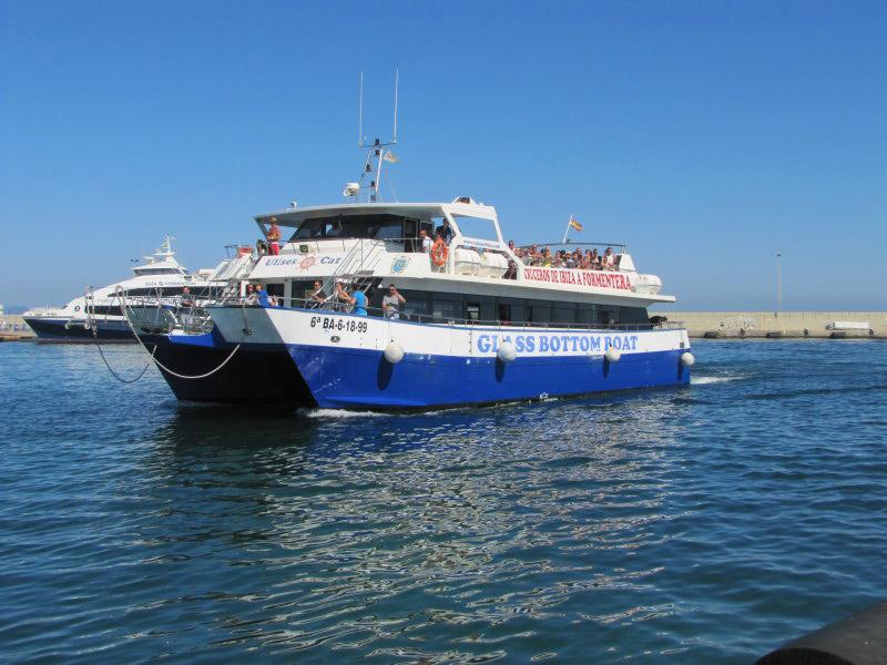 Ferry Ibiza Formentera Ibiza con el Ulises / Mediterránea