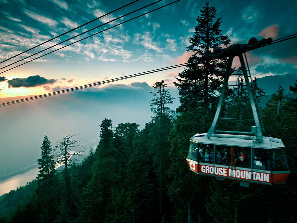 Tour privado: Puente colgante de Capilano y la montaña Grouse