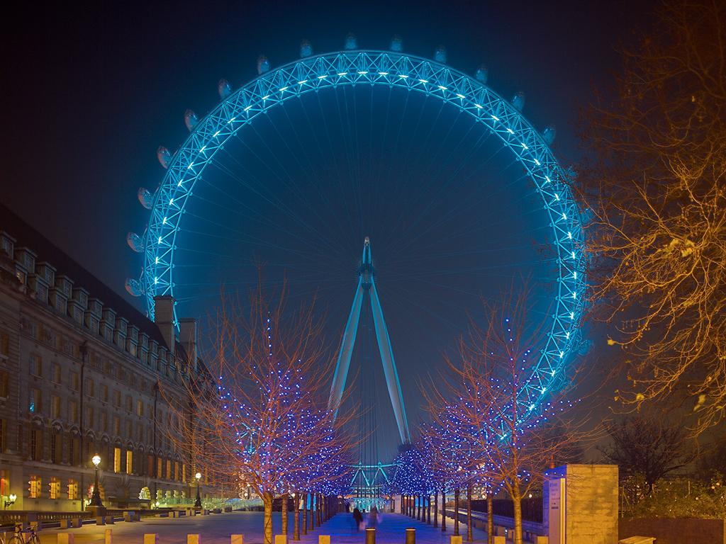 Tour a pie por Londres Iluminado