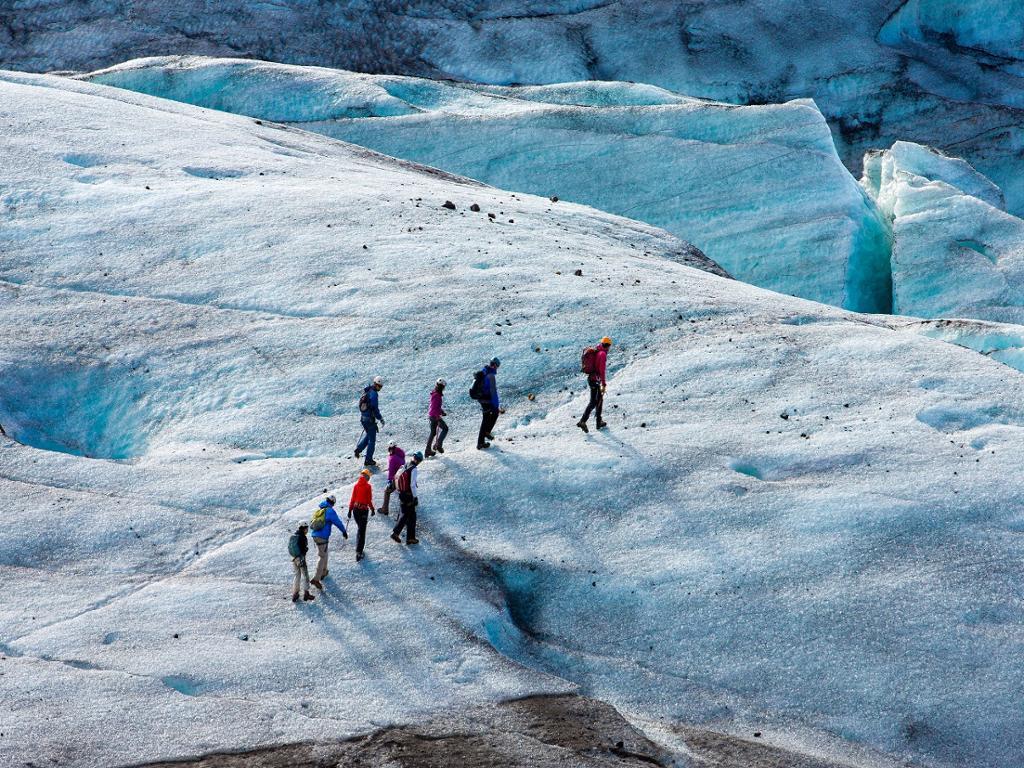 Tour costa sur y glaciar con traslados