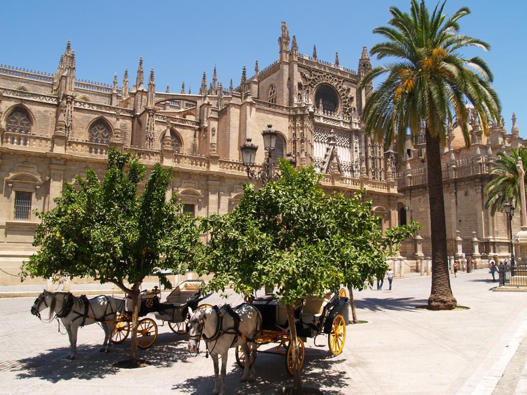 Descubre los aspectos más destacados de Sevilla: la Catedral, Giralda y Alcázar