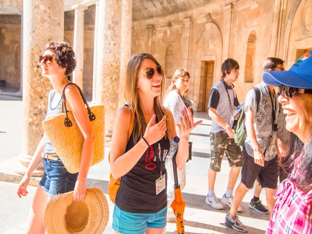 Generalife, Palacio de Carlos V y la Alcazaba de la Alhambra